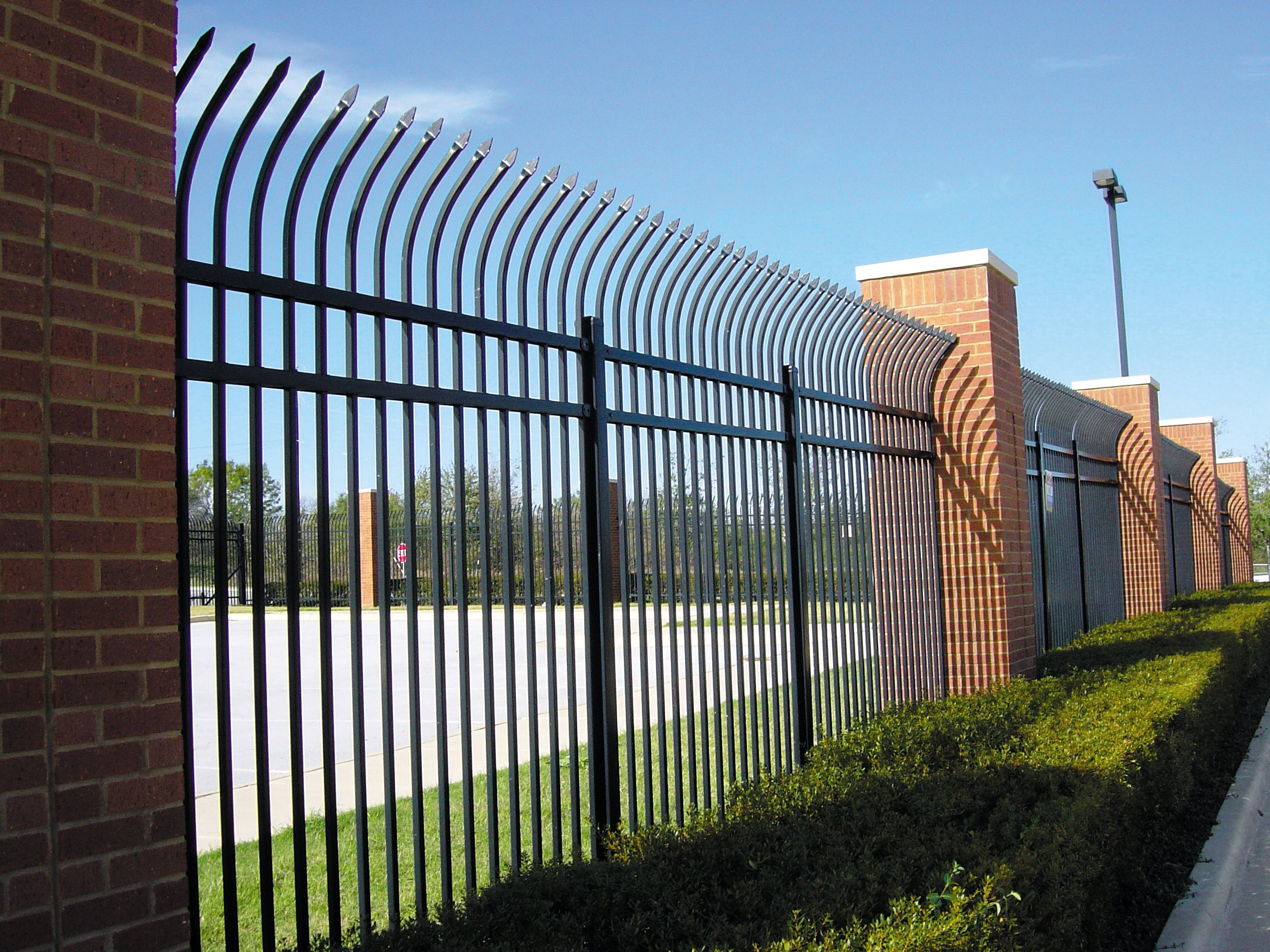 Commercial Wrought Iron Fencing Houston Fence Co